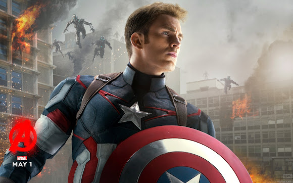 Captain America Avenger Age of Ultron Wallpaper