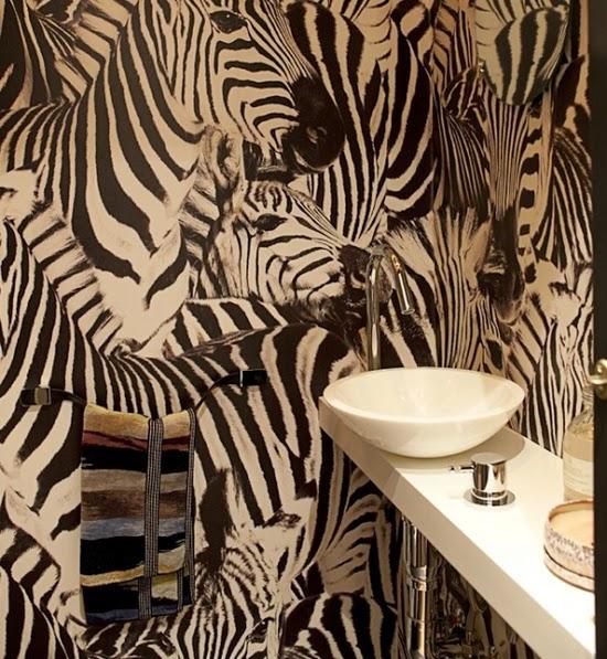 Baño animal print