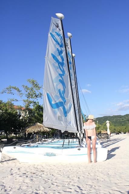 Sandals Jamaica Sailboat