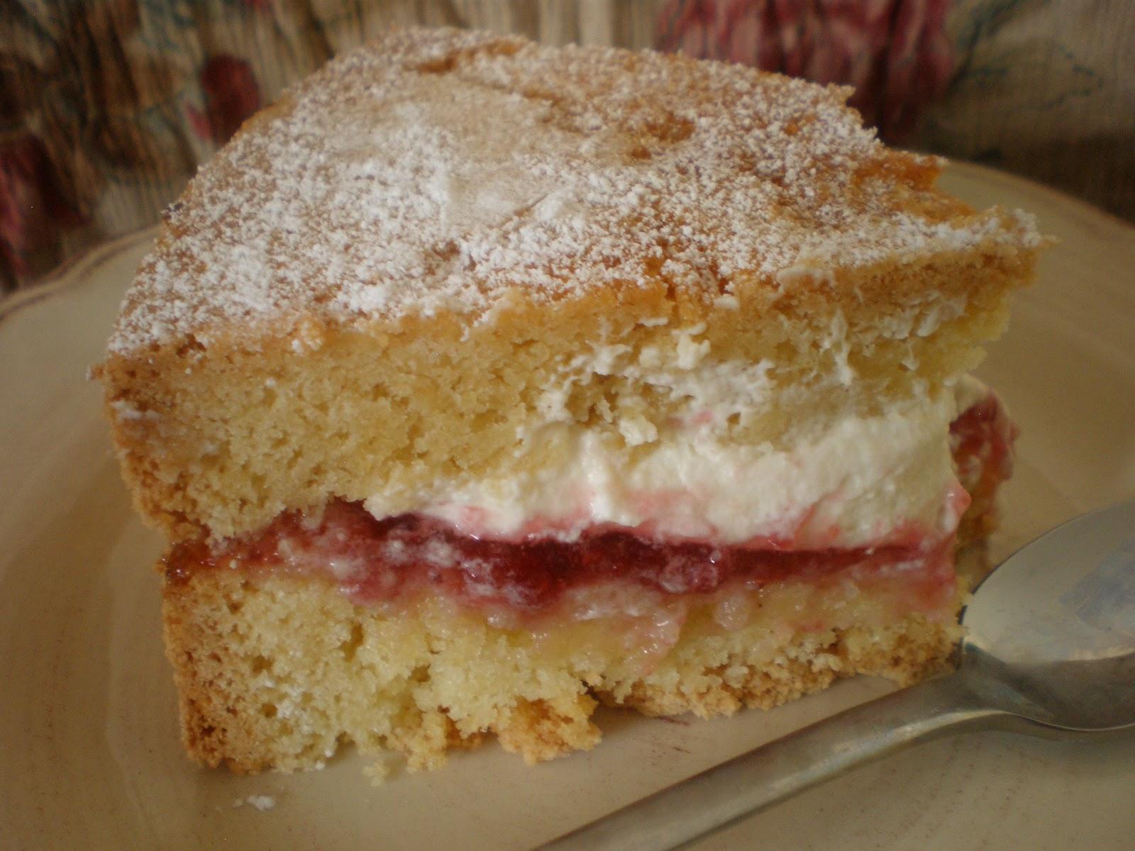 Egg Free Sponge Cake Recipe Easy