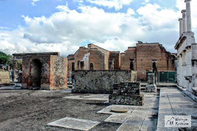 Pompeje ruiny