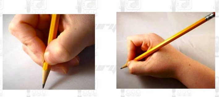 Teaching Children How to Hold and Write with a Pencil