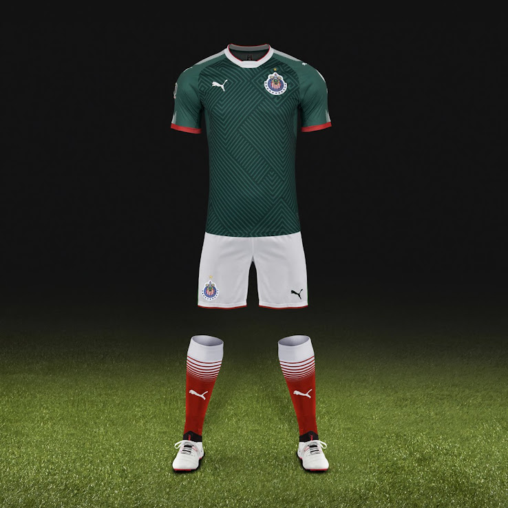 competitive price af933 444f9 Chivas 2017-2018 Third Kit Released - Footy Headlines