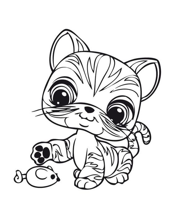 Littlest Pet Shop Lps Blogi Lps V 228 Rityskuvia Coloring