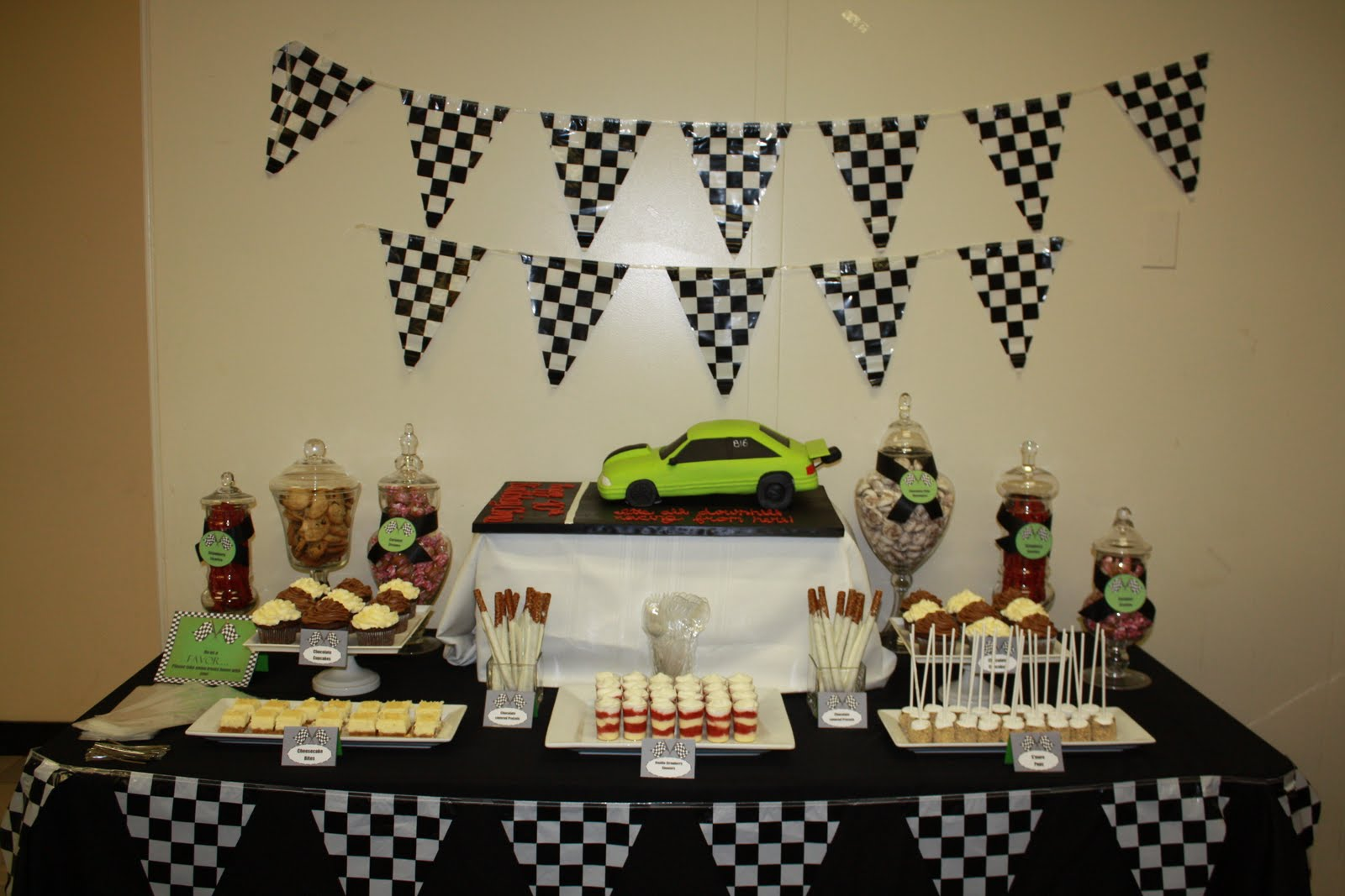 Sweet Eats Cakes Racing 40th Birthday