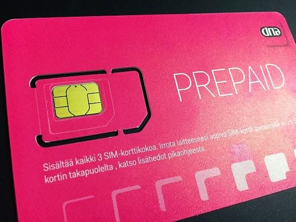 芬蘭電話卡