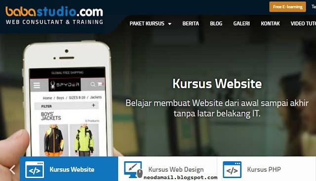 Belajar Cara Membuat Website Sendiri