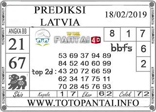 """Prediksi Togel """"LATVIA"""" PANTAI4D 18 FEBRUARI 2019"""