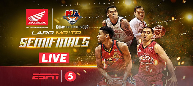 PBA Live Updates, Schedule & Streaming (PBA Commissioner's Cup 2018) Semifinals