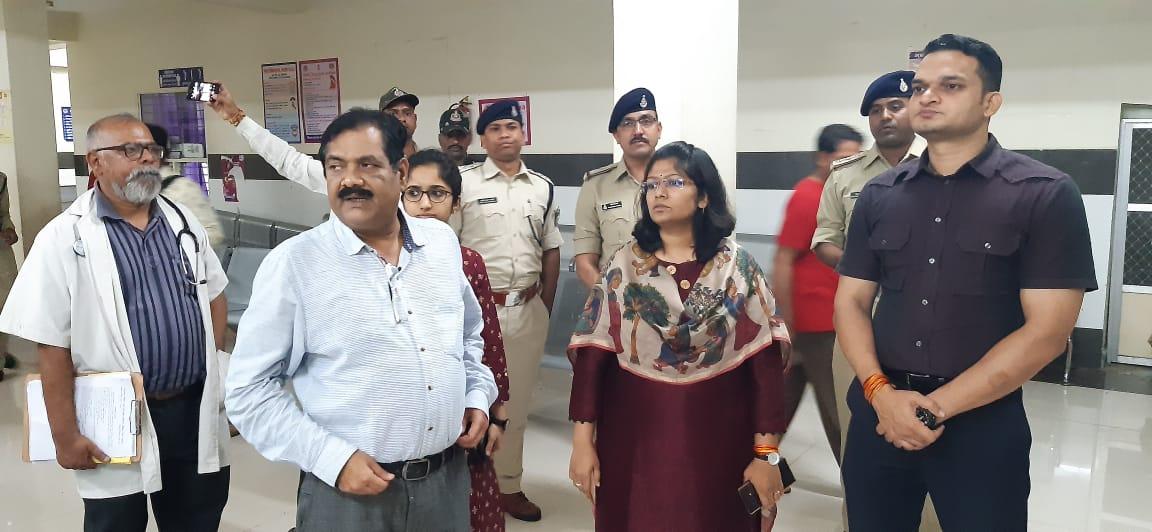 Ratlam News-मातृ एवं शिशु चिकित्सालय में पुलिस सहायता केंद्र आरंभ