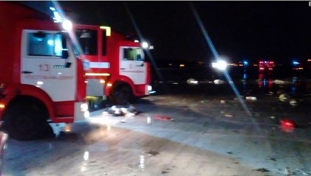 FlyDubai Airplane Crashes in Russia; See the Huge Number of Casualties (Photos)