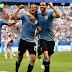 世界杯16强战绩 2 :乌拉圭射脚卡瓦尼梅开二度 2 : 1 淘汰 帅罗带领的葡萄牙战队!