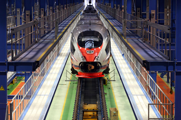 Top 10 world high speed train