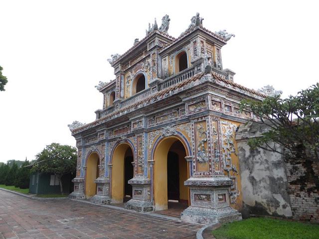 Edificio en la Ciudad Prohibida Púrpura de Hué