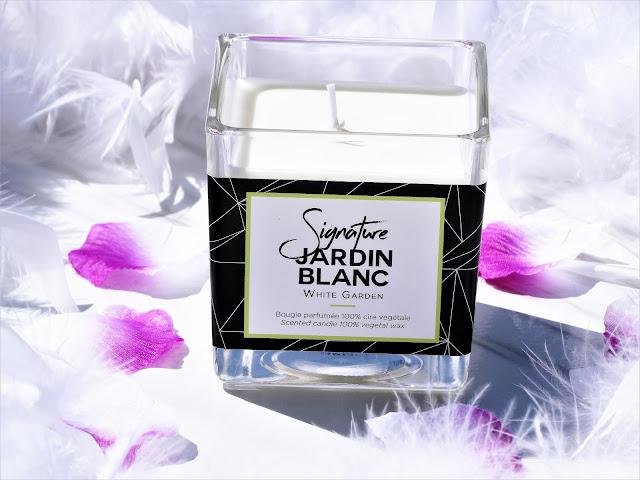 avis bougie parfumee Jardin Blanc (White Garden) de Clos des Senteurs, bougie parfumee, bougie, blog bougie, acheter bougie, avis bougie, candle review, scented candles, blog parfum