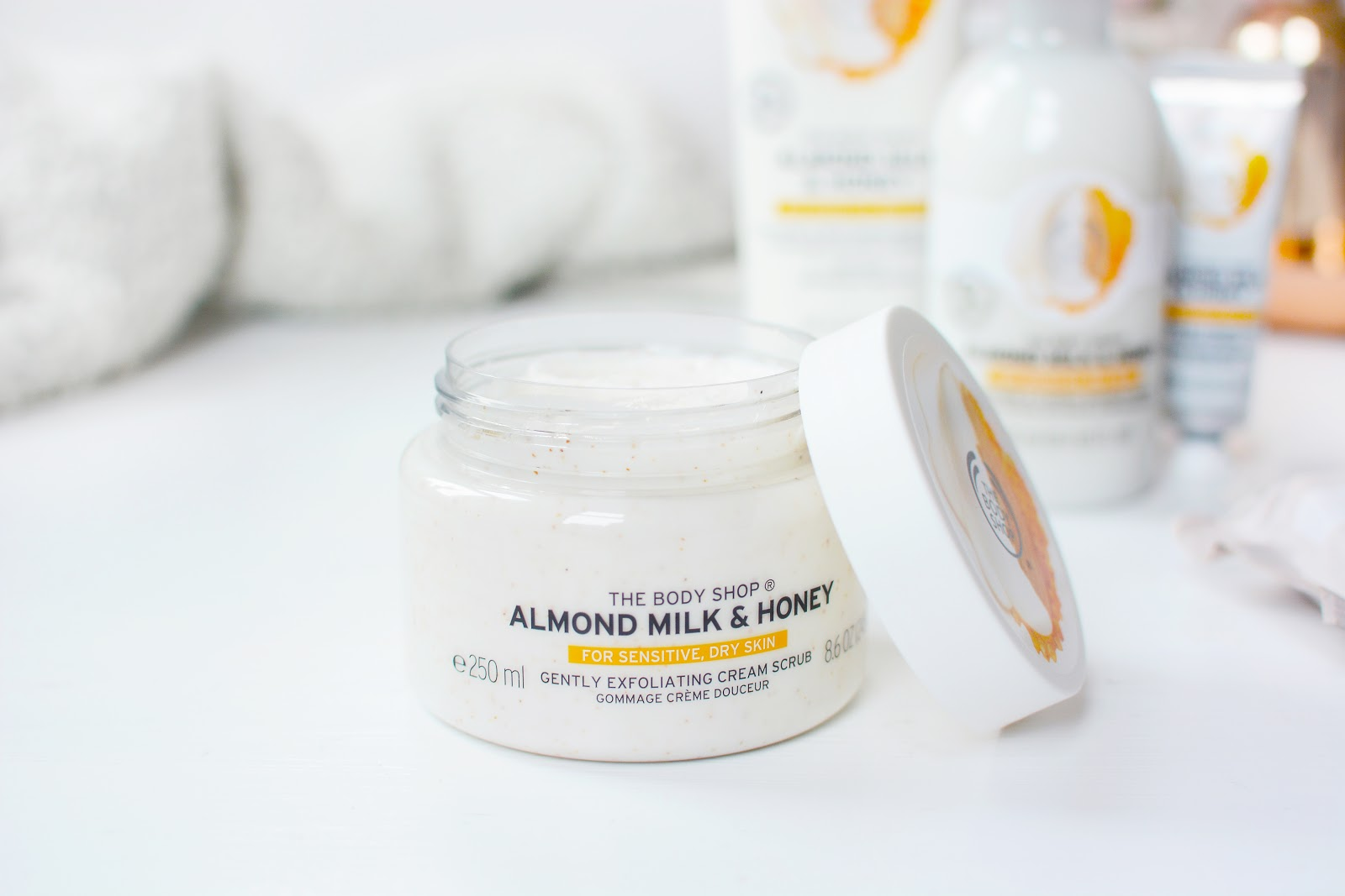 The Body Shop Almond Milk & Honey Collection For Dry, Sensitive Skin