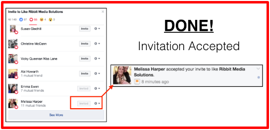 Invite Someone To Facebook
