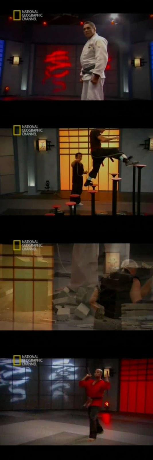 La Ciencia De La Lucha: El Guerrero Definitivo (2010) DVDRip Castellano
