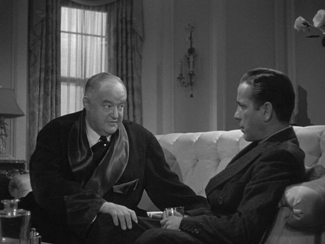 sydney greenstreet and humphrey bogart in 1941's maltese falcon - queer films blogathon