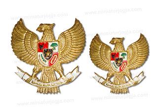 Logo Hobo Garuda Pancasila Miniatur Jogja