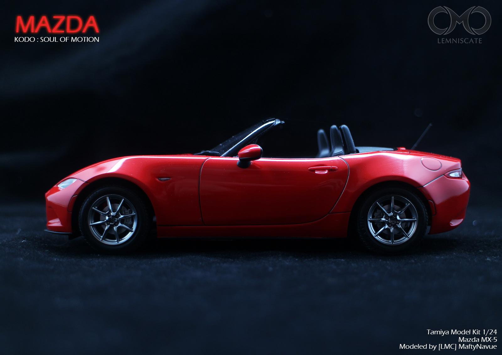 1/24 Tamiya Mazda MX-5