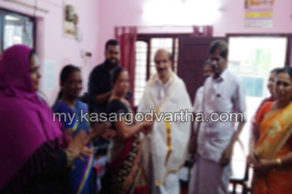 Kerala, News, Kasargod, Felicitated, Kookanam Rahman, Kookanam Rahman felicitated.