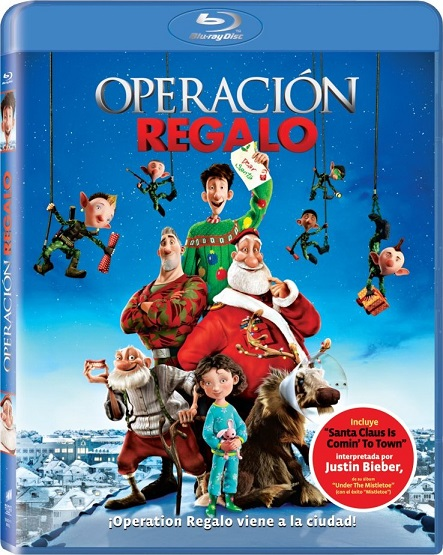 Arthur Christmas: Operación Regalo (2011) 1080p BluRay REMUX 19GB mkv Dual Audio DTS-HD 5.1 ch