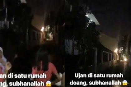 Heboh! Hujan di Tebet Guyur Satu Rumah Ini Saja, Ternyata yang Punya Sedang Naik Haji