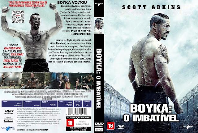 Capa DVD Bokya O Imbatível [Exclusiva]