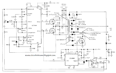 Make a Arc Jet Power Supply Circuit Diagram