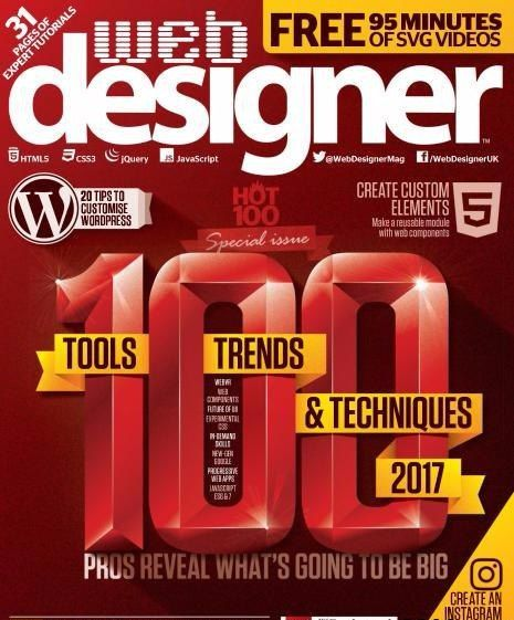 Web Designer Magazine Issue 257 2017