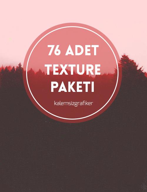 76 Adet Texture Paketi