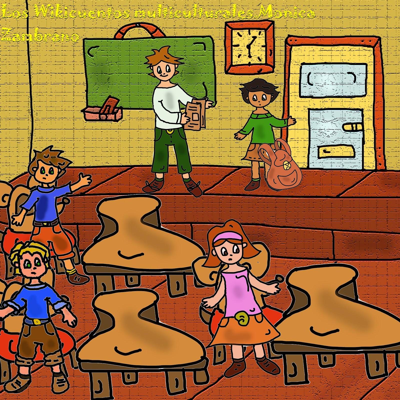 Cuentos infantiles de 3 a 5 a os marzo 2014 for Actividades en el salon de clases