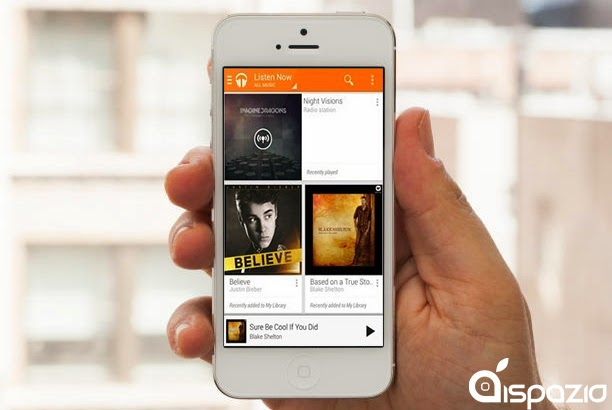Google play music is now on iPhone