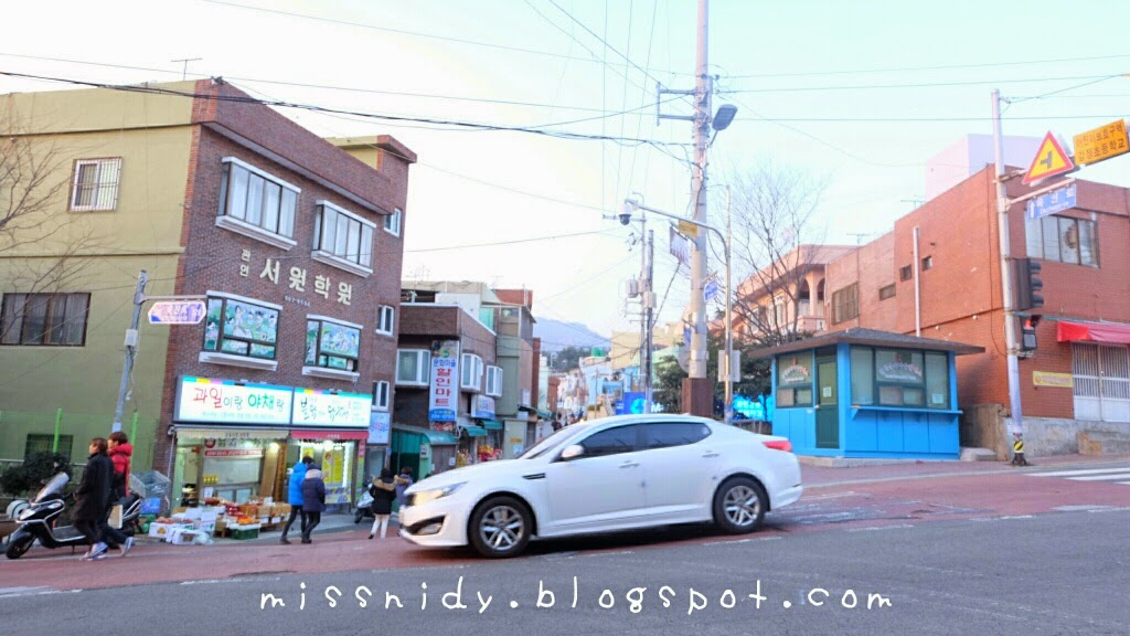 rute ke gamcheon culture village