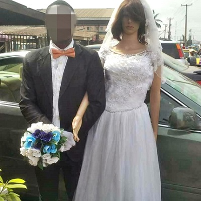 Man Weds Mannequin Doll In Lagos (Photos)