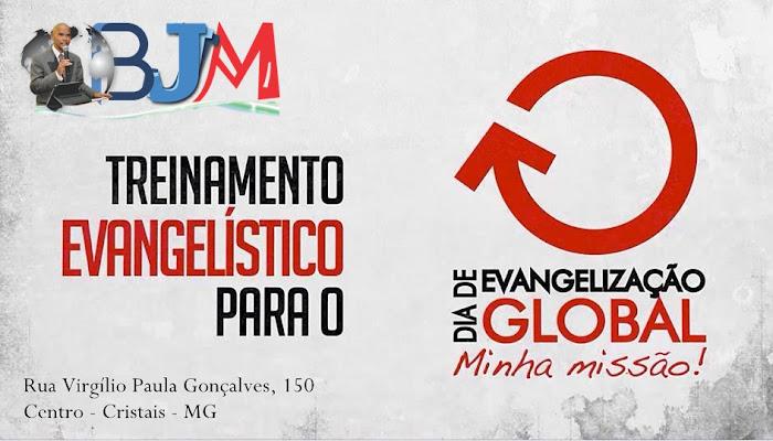 Evangelização Global 27 de agosto na cidade de cristais Minas Gerais de 2016