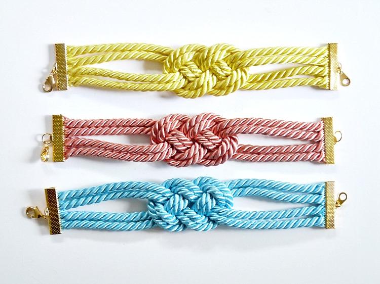 Summery bracelet tutorial