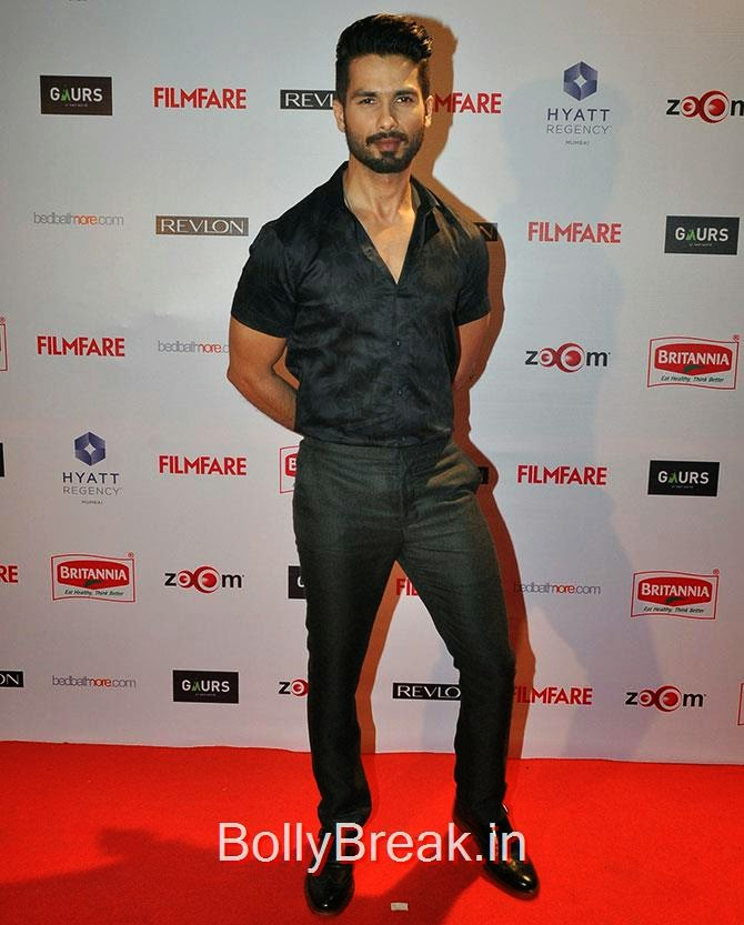 Shahid Kapoor, Filmfare Awards 2015 Red Carpet Pics for Nominations Pre Party