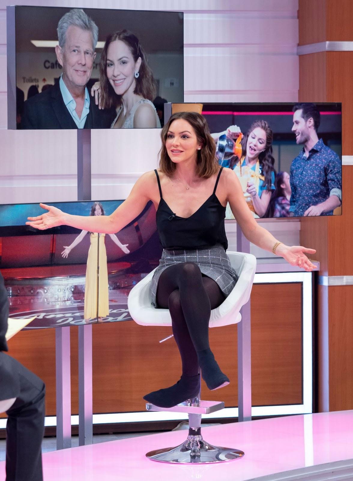 "Katharine McPhee – ""Good Morning Britain"" TV Show in London - 03/11/2019"