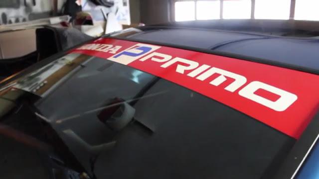 Honda primo banner