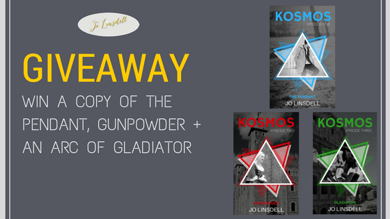 #GIVEAWAY: #KOSMOS Books 1, 2, and 3 Up For Grabs #EnterToWin
