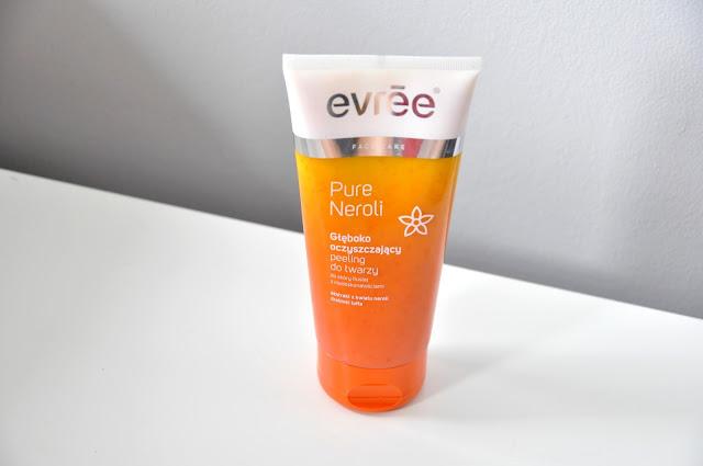 normalizujący peeling to twarzy evree pure neroli