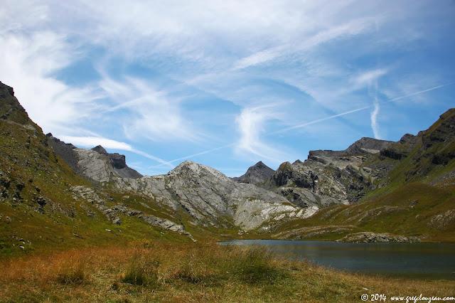 Lac du Lauzanier, PN du Mercantour, (C) 2014