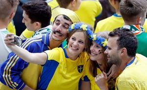 Euphoria Kostum Unik Suporter Piala Dunia Russia
