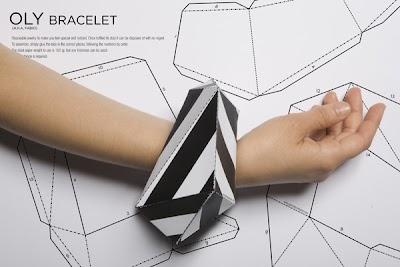 Hazte una Pulsera OLY de Papel Origami