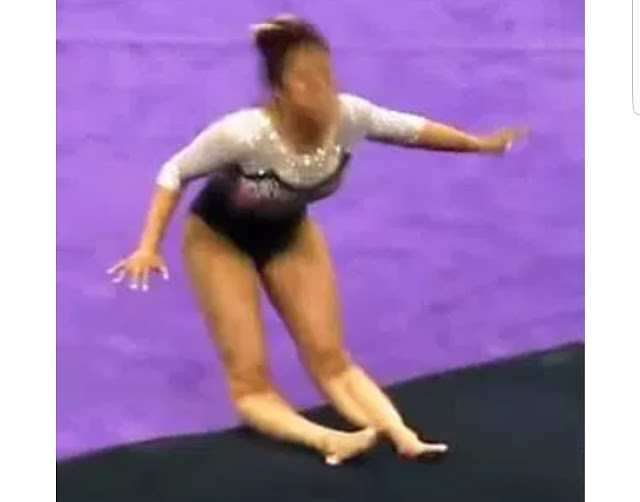 Gymnast Breaks Both Legs While Competing [VIDEO]