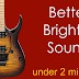 How To Make Guitar Recording Sound Better Fast