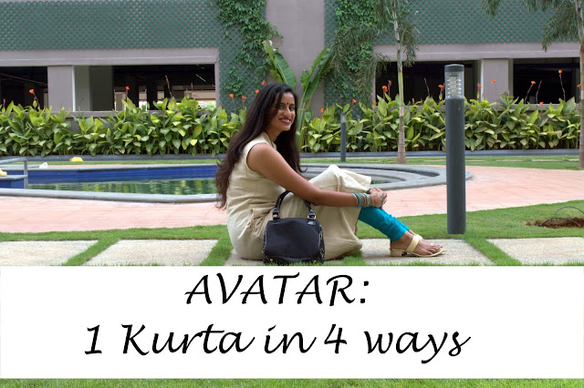 AVATAR #7: 1 FabIndia Kurta in 4 ways image