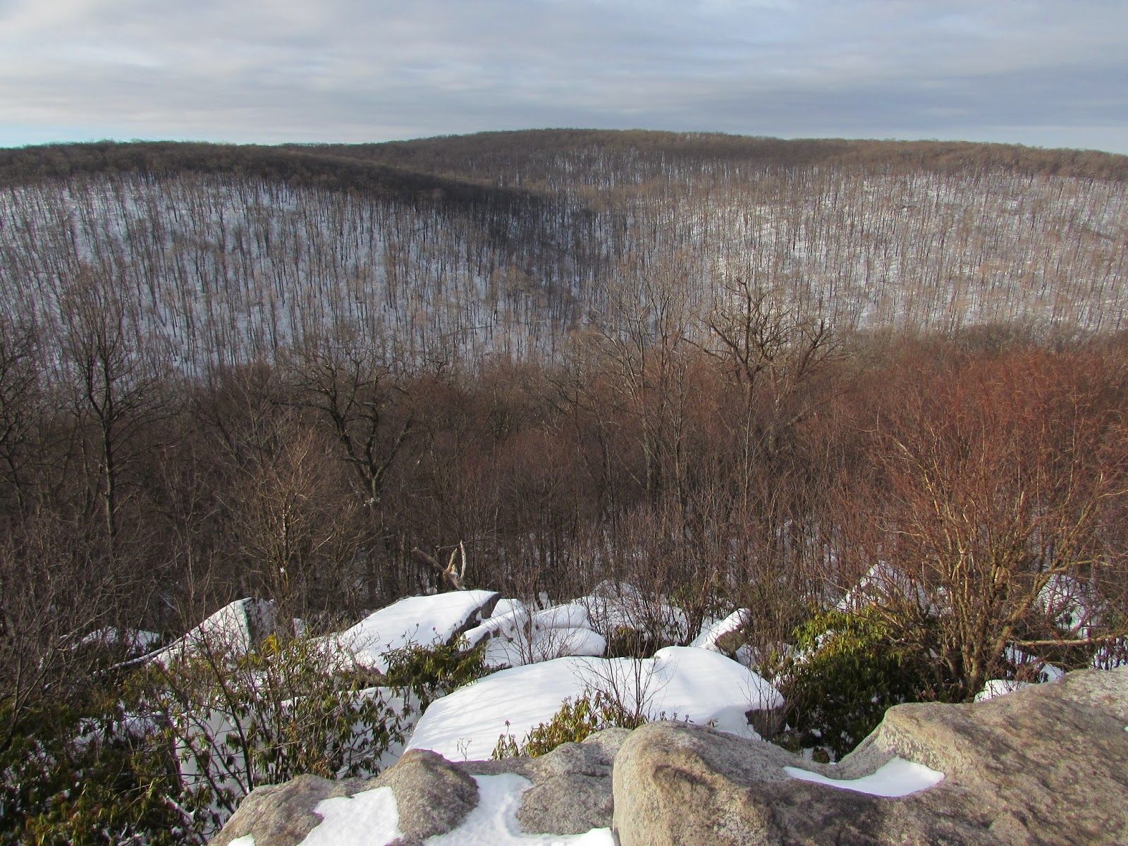 Wolf Rocks and Beam Rocks Overlook Hikes, Forbes State